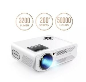 DBPOWER RD-819 Projector 3200 Lumens LCD Video Projector Multimedia Portable