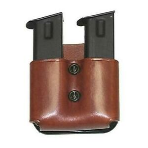 Galco DMP22 Tan DMP Double Magazine Paddle Pouch For Glock 19