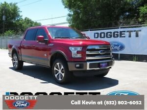 2015 F-150 King Ranch 2015 Ford F-150 Ruby Red Metallic Tinted Clearcoat with 76435 Miles available n