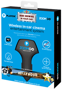 WATCH TV WITHOUT CELL SERVICE OR WIFI! Wireless In-Car Cinema Stick Movies Games