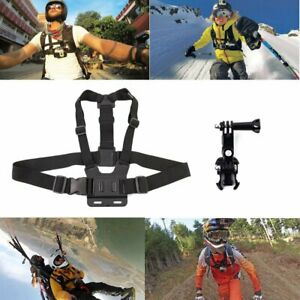 Adjustable Chest Mount Body Harness for GoPro Hero5 Black & Session 4 3+ 3 2 1