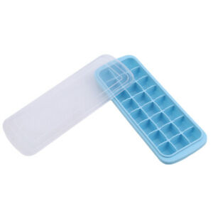 24 Grid Ice Cube Mold Cavity Silicone Making Trays DIY Mould Durable Tool LD