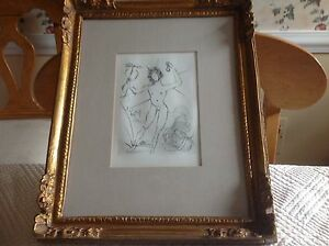 Salvador Dali Original Etching Signed in the Plate 1968