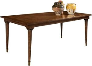 DINING TABLE PORT ELIOT ITALIAN OCTAGONAL SHAPED LEGS PATTERNED AGED GILD