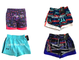 New Under Armour Toddler Girls Play Up Shorts Choose Color and Size