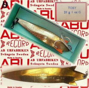 Vintage ABU Svängsta Record Spoon Toby 28gr G New in Box available 1964-69