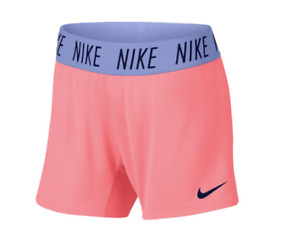 New Nike Girls` Dry Trophy Training Shorts Size XL $14.95