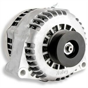 Holley 197-302 Premium Alternator GM LS Series Engines 150 Amp Output Natural Fi