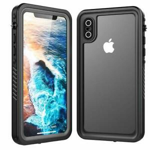50PCS iPhone Xs X Life Waterproof Shock Dust Proof Military Grade Wholesale