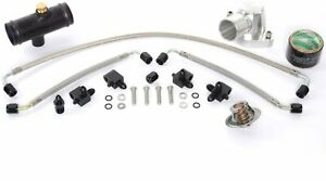 JEGS Performance Products 53550K LS Retro Cooling Kit Includes: Water Neck Steam
