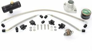 JEGS Performance Products 53550K1 LS Retro Cooling Kit Includes: Water Neck Stea