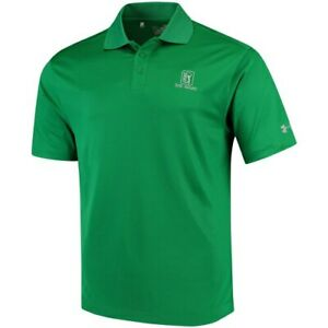 Under Armour TPC River Highlands Kelly Green Performance Polo