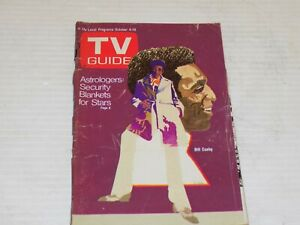 TV GUIDE Astrologers: Security Blankets for Stars Bill Cosby OCT. 4-10 1969