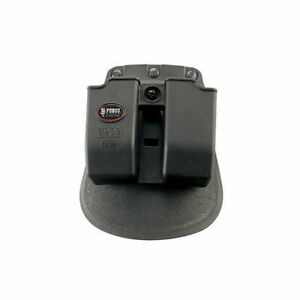 Fobus 9mm Evolution Double Mag Pouch Roto Paddle Holster 357/40 Cal Blk 6909NDRP