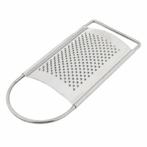 Stainless Steel Cheese Chocolate Garlic Ginger Flat Fine Coarse Grater Zester