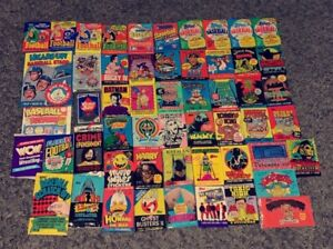 Vintage 70's - 80's - 90's Unopened Wax Pack - You Choose (FLAT RATE SHIPPING)