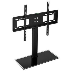 TV Stand Base with Universal Swivel Mount and Height Adjustable for 32 55 TVs