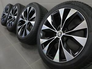 18 Inch Winter Wheels Original Skoda Superb III 3V Cassiopeia Design 3V0601025P