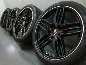 20 Inch Original Summer Wheels Porsche 911 991 CARRERA S Sports Design II Wheel
