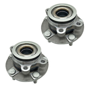 A set of(2) Front Wheel Hub and Bearing Assembly fits 2008-2013 NISSAN ROGUE