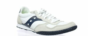 Saucony Mens Bullet White/Navy Running Shoes Size 8.5 (430910)