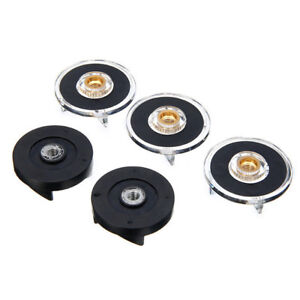 3 Plastic Gear Base & 2 Rubber Gear Replacement Set, For Magic Bullet Spare PaV~