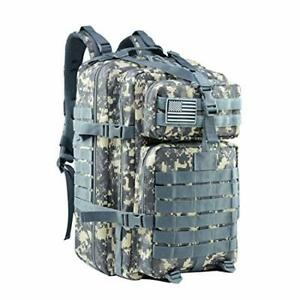 Military Assault Backpack US Marines Coyote 3Day Tactical Med Army Hunting 42L