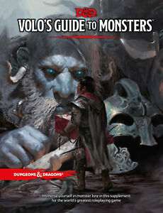 Volo's Guide to Monsters (Dungeons & Dragons D&D) [New Book] Hardcover