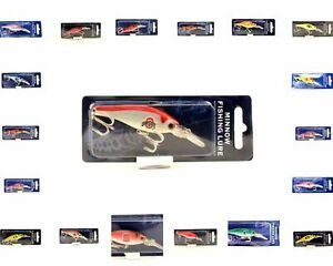 NCAA NEW MINNOW FISHING LURE CRANK BAIT NEW IN PACKAGE YOU CHOOSE THE TEAM