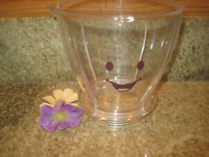 Baby Bullet BB-101 Food Blender Replacement Batch Bowl Pitcher Large Container