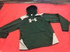 Mensteen Under Armour Greengray Hoodie Large Logo Size Small