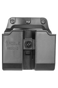 Fobus Roto Belt Double Magazine Pouch For Glock/H&K 9mm/40 Double Stack 6900MDRB