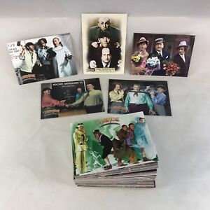THE THREE STOOGES 75th ANNIVERSARY (Breygent2005) Complete Card Set w 5 PROMOS