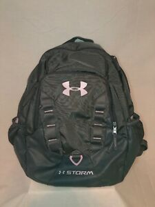 Under Armour Storm Backpack Grey And Pink Good Condition