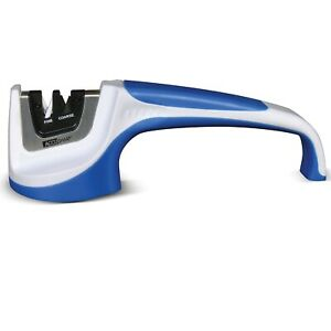 AccuSharp Classic Pull-Through Knife Sharpener - White/Blue
