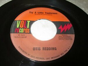OTIS REDDING TRY A LITTLE TENDERNESS 45 7