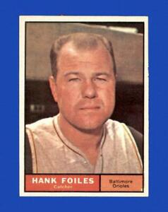 1961 Topps Set Break #277 Hank Foiles NM-MT OR BETTER *GMCARDS*