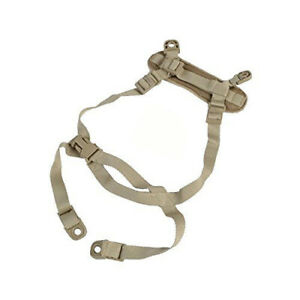 Premium Heavy Duty 5-Point Chin Strap for ACH MICH Tactical Helmets
