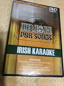 IRISH KARAOKE PUB SONGS DVD Brand New Factory Sealed
