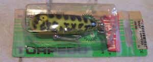 BEAUTIFUL VINTAGE HEDDON BABY TORPEDO LURE 082019p  IN PACKAGE TOUGH COLOR