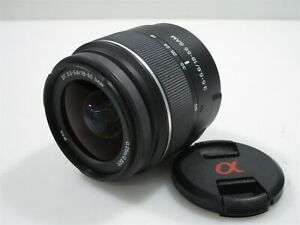 Sony DT 18-55mm f3.5-5.6 SAM Zoom Lens with Front Lens Cap