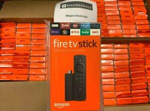 Brand New Amazon Fire TV Stick 2019 with Alexa Voice Remote & TV Control Buttons