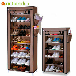 Thick Non woven Dustproof Shoe Cabinet DIY Storage Shoes Rack Shoe Organizer $43.42