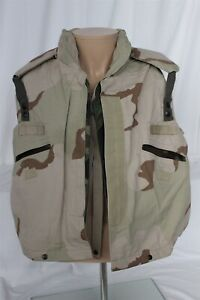 Pre-Owned Ground Troop Fragmentation Protection Vest W/ Desert Camo PASGT Cover