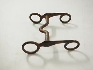 Antique hand forged North and Judd Horse Bit 1800s