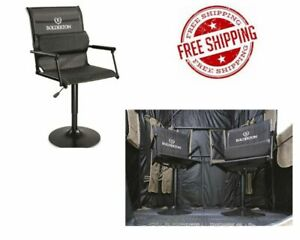 XL 360 Swivel Blind Tower Chair Back Support 400 lb Capacity Padded Arm Rest
