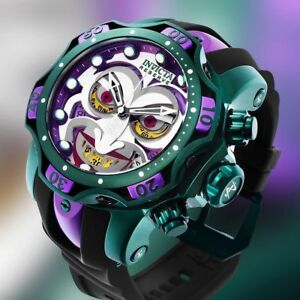 Invicta DC Comics Joker 52mm Venom Limited Edition Swiss Quartz Chrono 26790 NEW