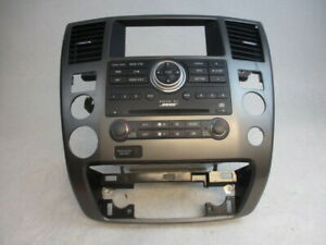 08 09 10 Nissan Armada Dash Bose Radio Receiver Heater AC CD Player OEM LKQ