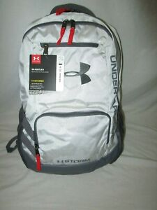 UNDER ARMOUR HUSTLE II BACKPACK LAPTOP SCHOOL TRAVEL 1263964 CAMO WHITE NWT