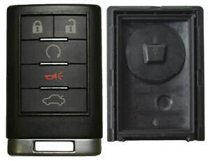 Case for Cadillac Remote Keyless Entry Key Fob FCC ID OUC6000066 5 Button $13.59